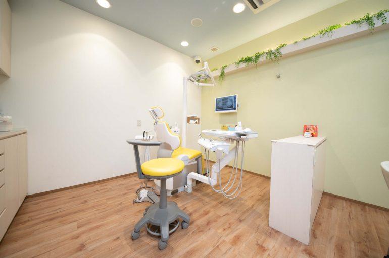 お子様専用の診療室を完備