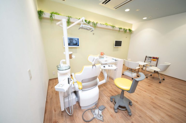 お子様専用の診療室完備