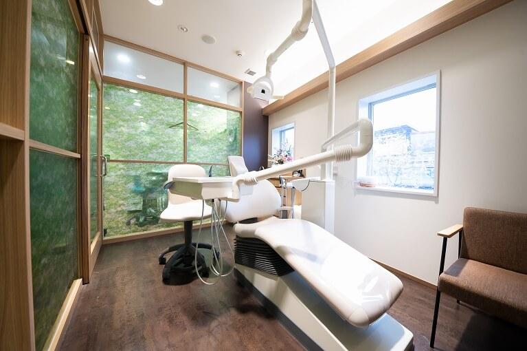 個室診療スペース