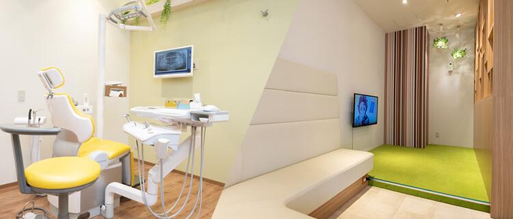 お子様のための小児専用診療室 小児歯科